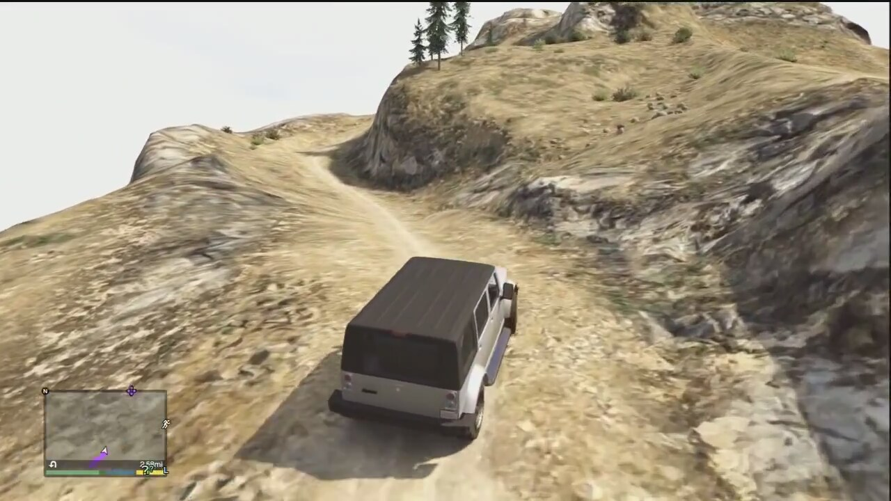 GTA V GTA 5Mount Chiliad Fail (Xbox 360) | İzlesene.com Video