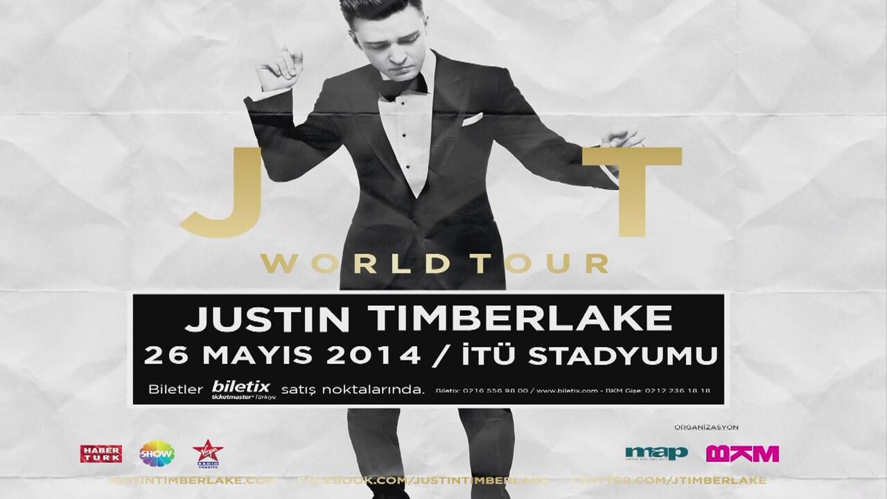 Justin Timberlake 26 Mayıs'ta İTÜ Stadyumu'nda! | İzlesene.com