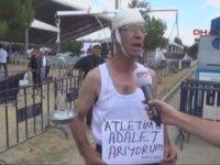 Atletle Adalet Arayan Dayı