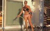 Hülya Avşar'ın Bikinili Meydan Okuması