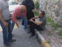 İstanbul Bağcılar'da Kapkaçcılık Yapan Adama Atılan Dayak