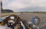 100 Beygirlik SüperKart Yarışındaki Araç Üstü Kamerası HD