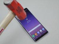 Samsung Galaxy Note 8 Dayanıklılık Testinde