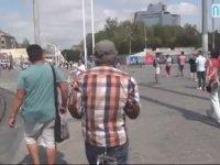 Bavulu Kemere Bağlamak - Taksim