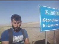 Survivor'a Katılmak İçin Iğdır'dan İstanbul'a Yürümek