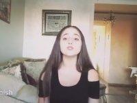16 Dilde Despacito Söyleyen Kız