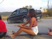 Brezilya Sokaklarında Roller Karting Çılgınlığı