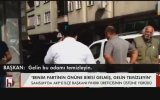 Fındık Üreticisi ile AKP İlçe Başkanı Tartışması