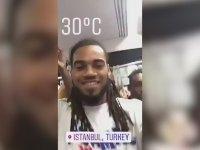 Galatasaray'ın Yıldız Futbolcusu Denayer Tramvaya Binerse