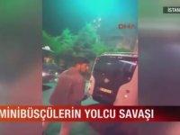 Minübüsçülerin Ölümüne Yolcu Kapma Yarışı - İstanbul