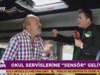 Servisçi'den Sensör Dayağı Yiyen Muhabir