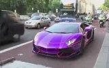 Lamborghini'yi Çekmek İsteyen Polisin Zor Anları
