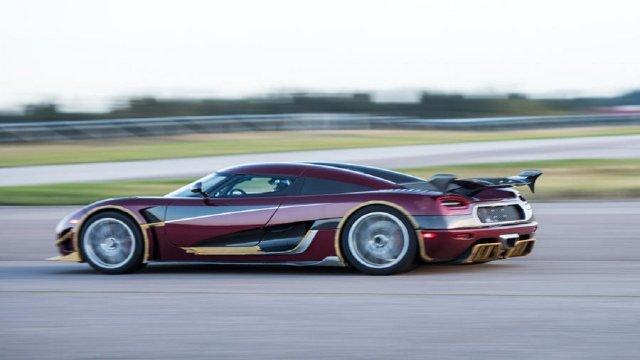 Bugatti Nin 0 400 0 Km Hiz Rekorunu Koenigsegg Agera Rs In Kirmasi