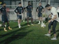 Freestyle Uzmanı Soufiane Touzani'nin Başakşehirli Futbolcularla Kapışması