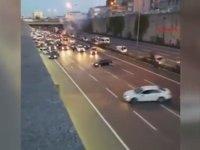 Yolu Kapatıp Drift Yapmak! - İstanbul