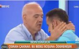 Ahmet Çakar'ın Osman Çakmak'ı Alnından Öpmesi