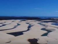 Brezilya'da Bulunan Lagünlerin Drone İle Görüntülenmesi