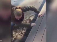 Donmuş Göle Düşen Kız