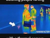 Termal Kamerayla Gaz Kontrolü