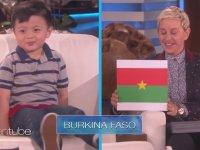 Ülkeleri Şekil ve Bayraklarına Göre Tanıyan Sempatik Bebe