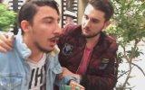 Türkiye'de Lüks Arabayla Kız Tavlama Şakası Yaparken Biber Gazı Yemek