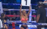 Güzel Sunucusu Sol Perez'in Ring Kızı Olması