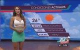 Yanet Garcia'nın En Seksi Sunucu Seçilmesi