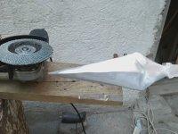 Dökme Alüminyumdan Bıçak Kunai Yapımı...