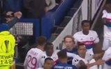 Everton  Lyon Maçındaki Kavga