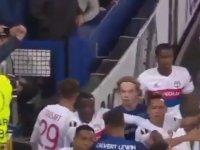 Everton - Lyon Maçındaki Kavga