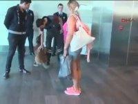 Türkiye'den Viyana Yolcularını Köpekle Koklatma (Misilleme)