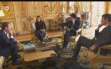Macron'un Köpeğinin Sarayın Şöminesine İşemesi