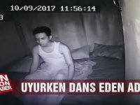 Uykusunda Dans Eden Adam