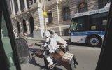Star Wars Benzeri Motorla New York Caddelerinde Gezmek