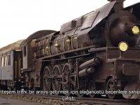 3 Bin Kalıp Çikolatadan Oluşan Tren