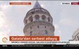 Cengiz Koçak'ın Galata Kulesi'nden Atlaması