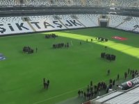 Beşiktaş'tan 10 Kasım Koreografisi