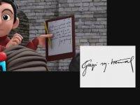 TRT Çizgi Filminde Atatürk İmzası Subliminali