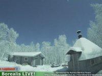 Finlandiya'nın Laponya Bölgesine Meteorun Düşmesi