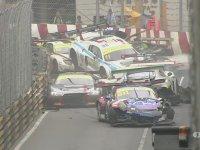 Macau GT'de Zincirleme Kaza