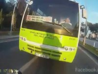 Trafik Polisi Olan Motorcu