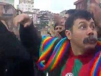 Çılgınca Tezahürat Yapan Diyarbakırsporlu Dayı