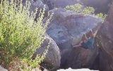 Kaya Kütlesiyle Yere Çakılan Dağcı