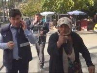 Yakalanan Dilencinin Hıncını Gazeteciden Çıkarması - Antalya