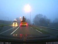 İş Makinesi Taşıyan Traktörün Köprüye Çarpması