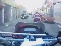 Brezilya'da Motorlu Polis Takipleri