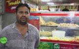 Hindistan Sokak Lezzetleri  Çeşitli Aparatifler Kolajı