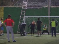 Zahide Yetiş'in Halı Sahada Futbol Oynaması