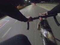 Seri Top Atışı Yapan Bisikletli