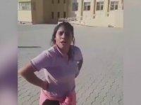 Orta Sahadan Penaltı İsteyen Liseli Kız